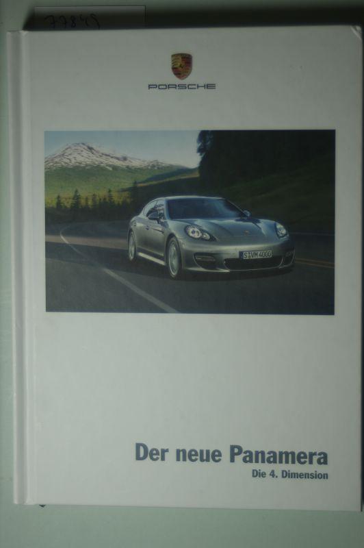 Porsche: Werbe-Buch Porsche Der neue Panamera 2008