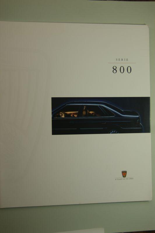 Rover: Prospekt Rover Serie 800
