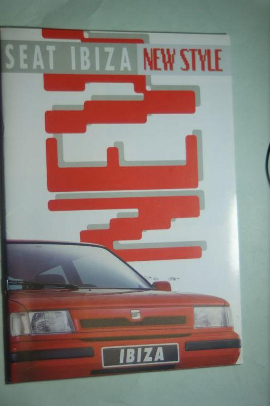Seat: Prospekt Seat Ibiza New Style 03/1991