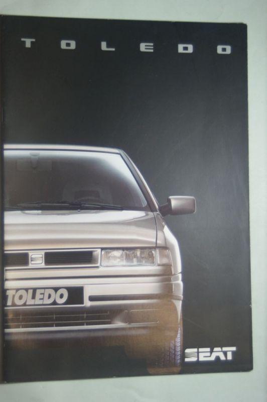 Seat: Prospekt Seat Toledo 09/1991