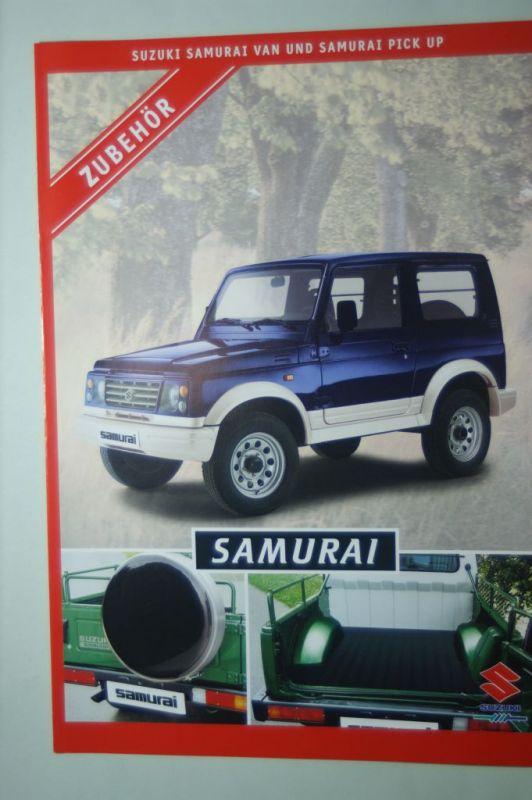 Suzuki: Zubehör Suzuki Samurai Van und Pick Up 1999