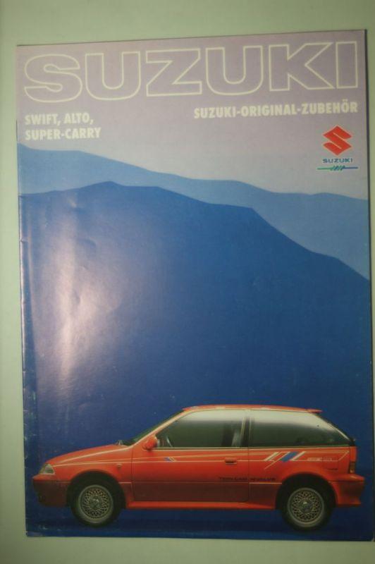 Suzuki: Zubehör Suzuki Swift, Alto, Super-Carry aus den 1980igern