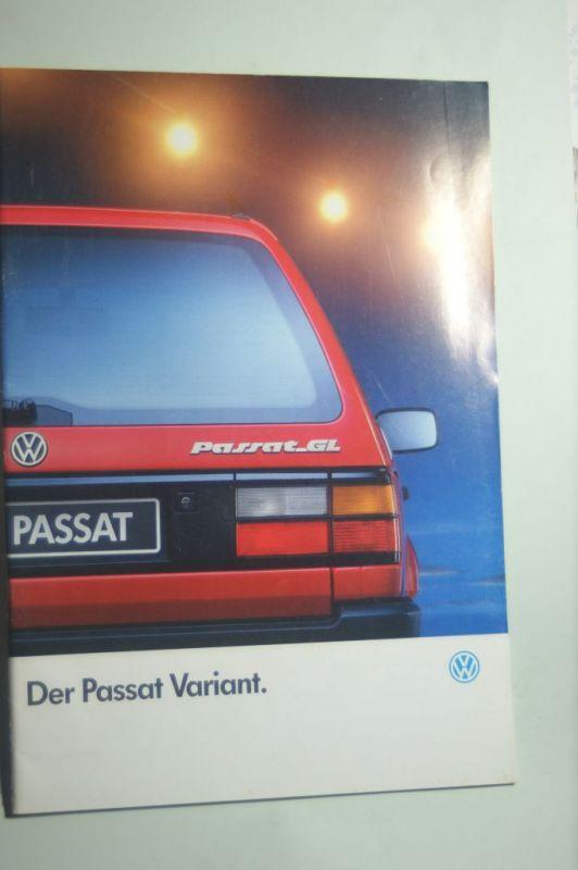 VW: Prospekt VW Der Passat Variant 08/1992