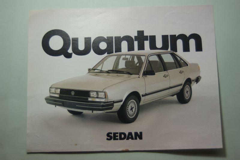 VW: Werbeblatt VW Quantum Sedan