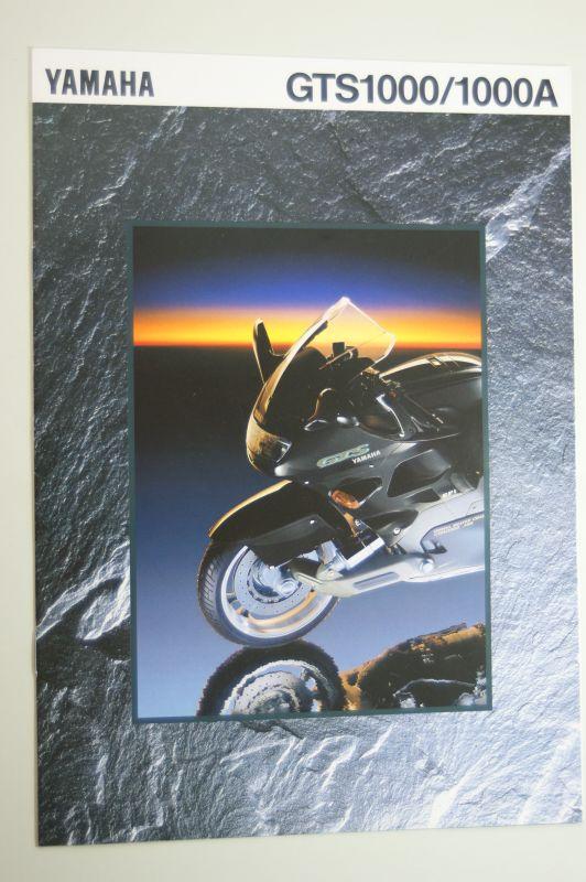 Yamaha: Prospekt Yamaha GTS1000 / 1000A - Österreich