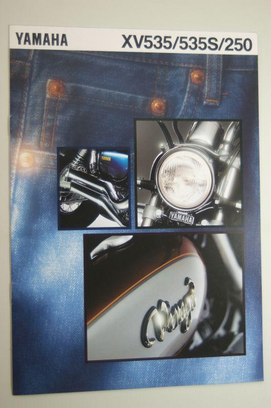 Yamaha: Prospekt Yamaha XV535 / 535S /250