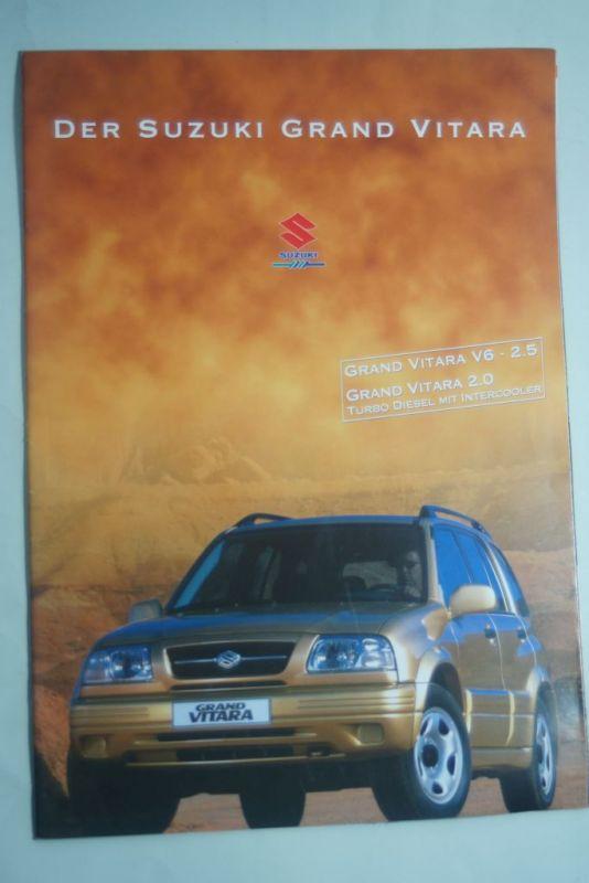 Suzuki: Prospekt Suzuki Grand Vitara 1989