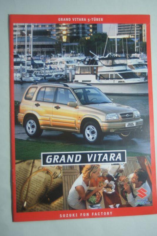 Suzuki: Prospekt Suzuki Grand Vitara 5-Türer 1999