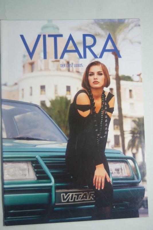 Suzuki: Prospekt Suzuki Vitara aus den 1990igern
