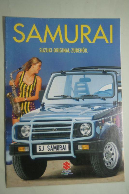 Suzuki: Suzuki Samurai Original Zubehör 1994