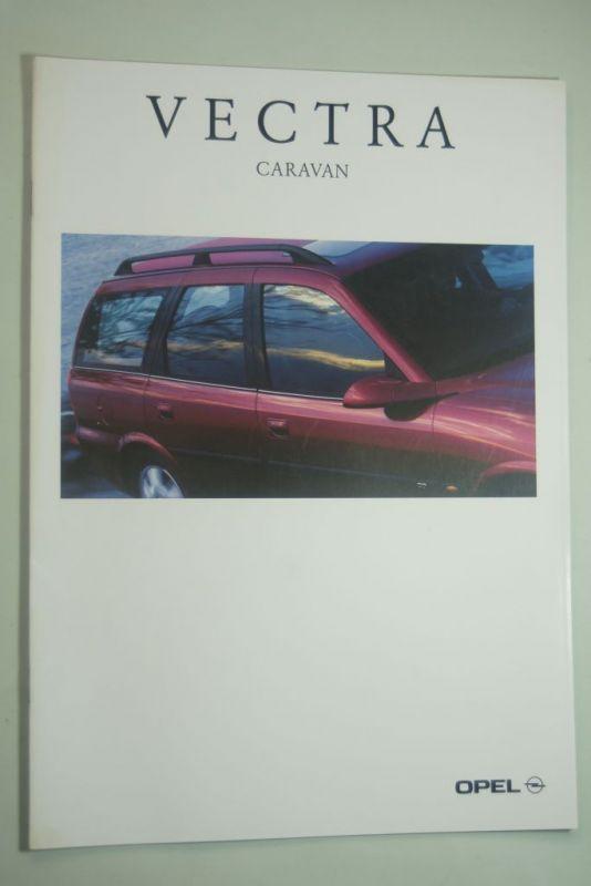 Opel: Prospekt Opel Vectra Caravan 09/1996