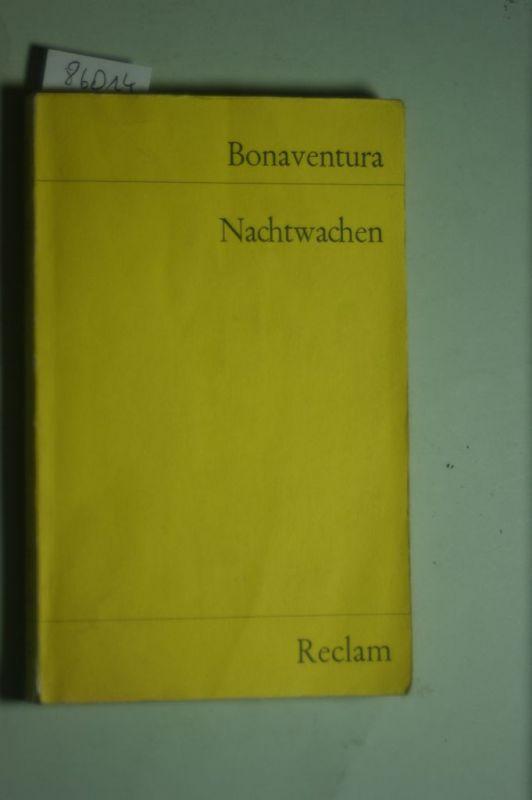 , Bonaventura: Nachtwachen (Reclams Universal-Bibliothek)
