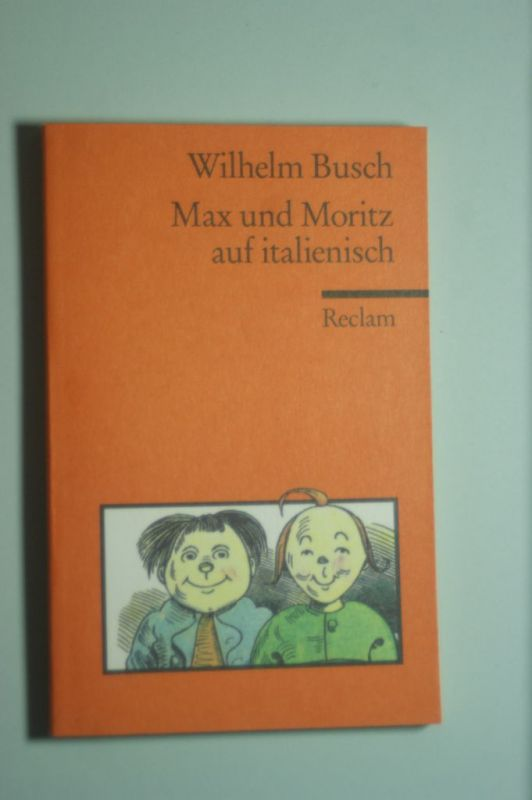 Busch, Wilhelm: Max und Moritz auf Lateinisch