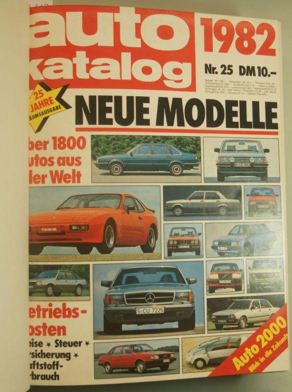Motor-Verlage: Auto Modelle Katalog 1982 - 1986 in Leinengebunden