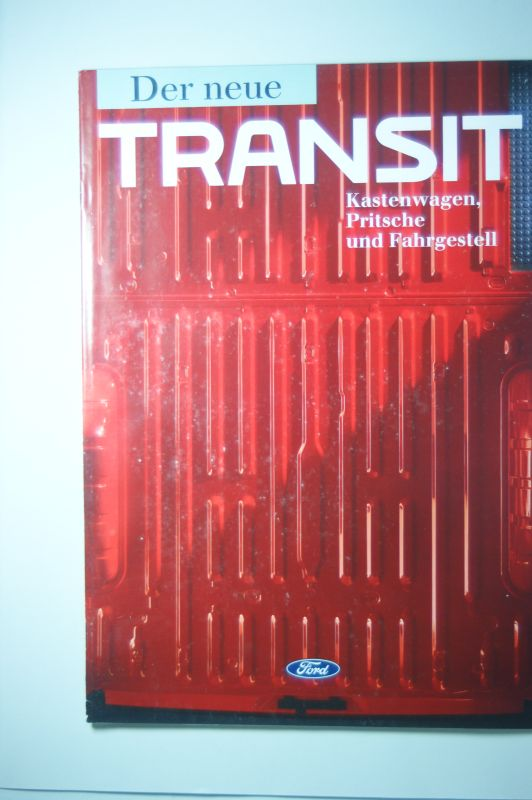 Ford: Prospekt Ford Transit Kastenwagen, Pritsche und Fahrgestell 1992