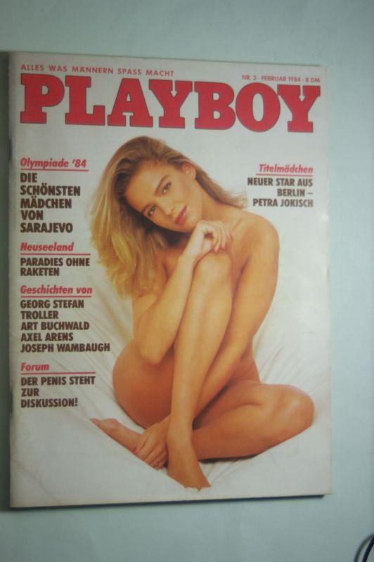 Hugh, Marston Hefner und Diverse : Playboy Magazin Februar 1984 Zeitschrift Original Deutsche Ausgabe 2/1984 ALANA SOARES