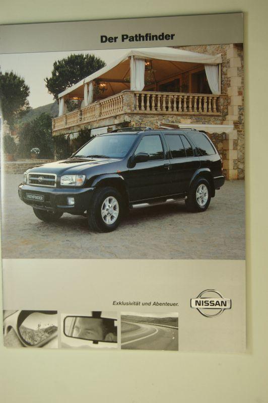 Nissan: Nissan. Der Pathfinder. Prospekt 2000