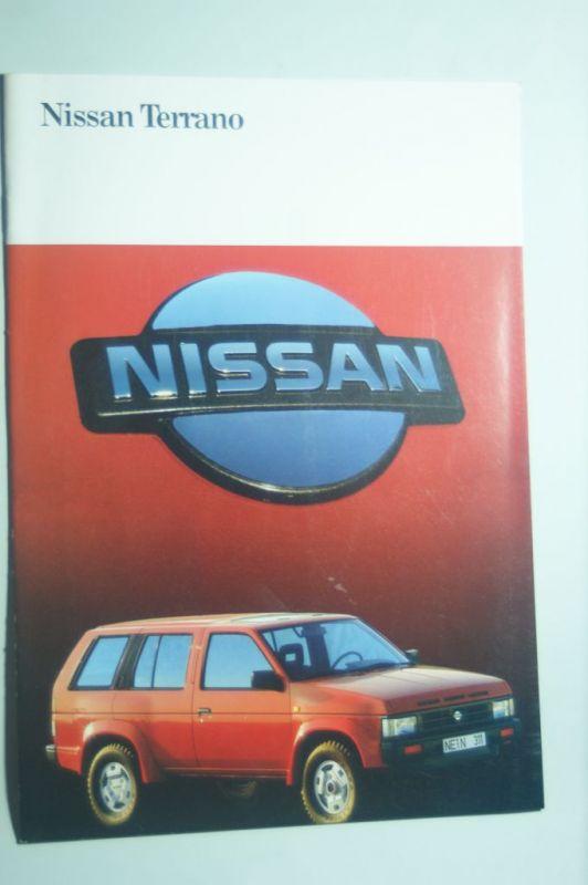 Nissan: Prospekt Nissan Terrano 1990