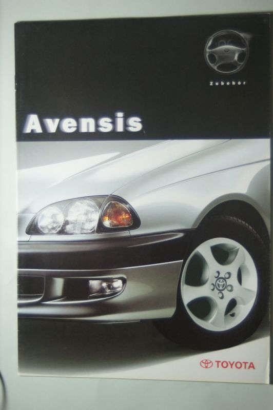 Toyota: Prospekt Toyota Avensis Limousine, Liftback Combi 12/1997