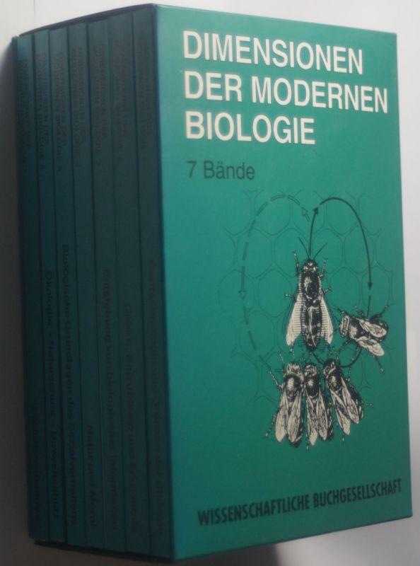 Nagl, Walter (Hrsg.): Dimensionen der modernen Biologie. hrsg. von Walter Nagl und Franz M. Wuketits