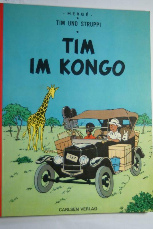 , Hergé: Tim im Kongo (Tim und Struppi)