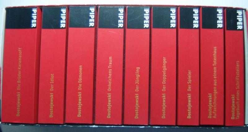 Dostojewski, Fjodor M.: Sämtliche Werke: 10 Bände