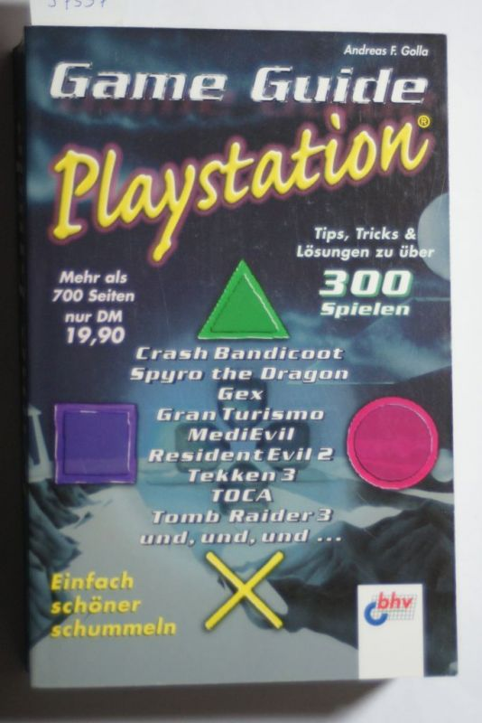 Golla, Andreas F.: Game Guide Playstation
