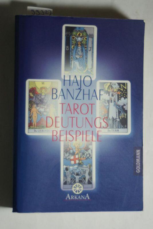 Banzhaf, Hajo: Tarot-Deutungsbeispiele -