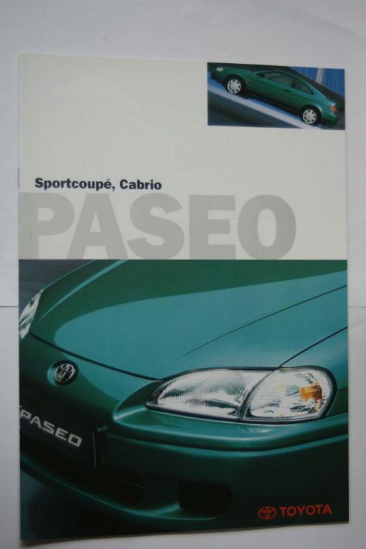 Toyota: Prospekt Toyota Paseo Sportcoupe/Cabrio 02/1997