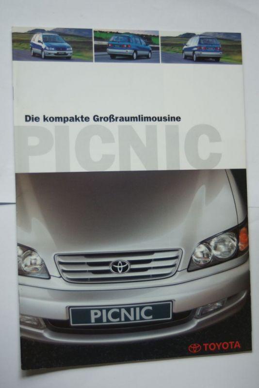 Toyota: Prospekt Toyota Picnic 11/1996