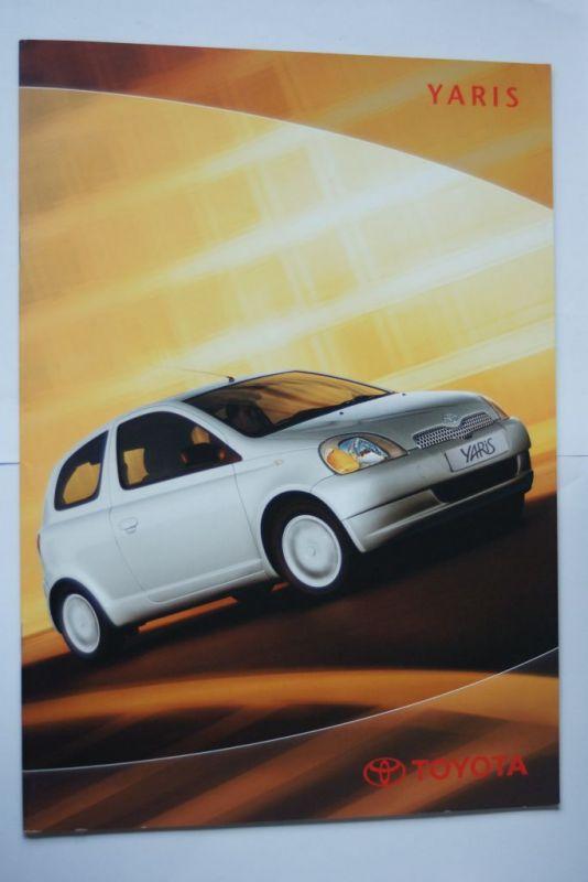 Toyota: Prospekt Toyota Yaris 03/2002