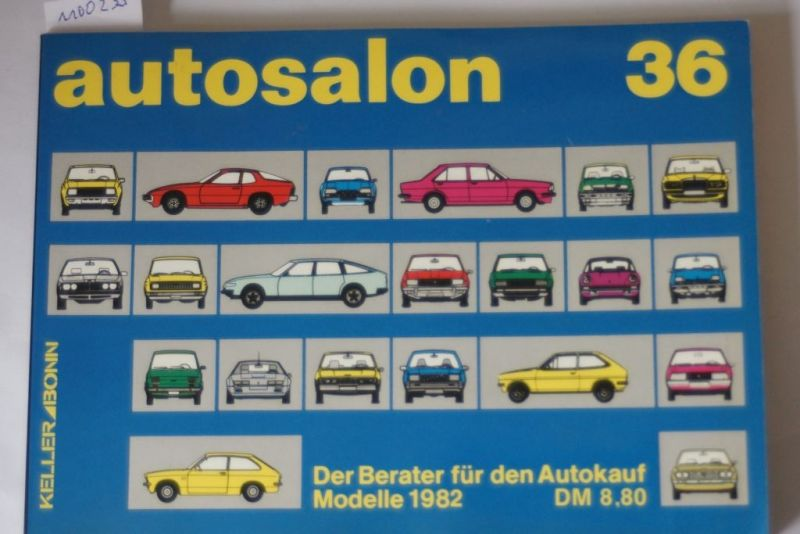 Autosalon in Buchform; Teil: Jahresbd. 36