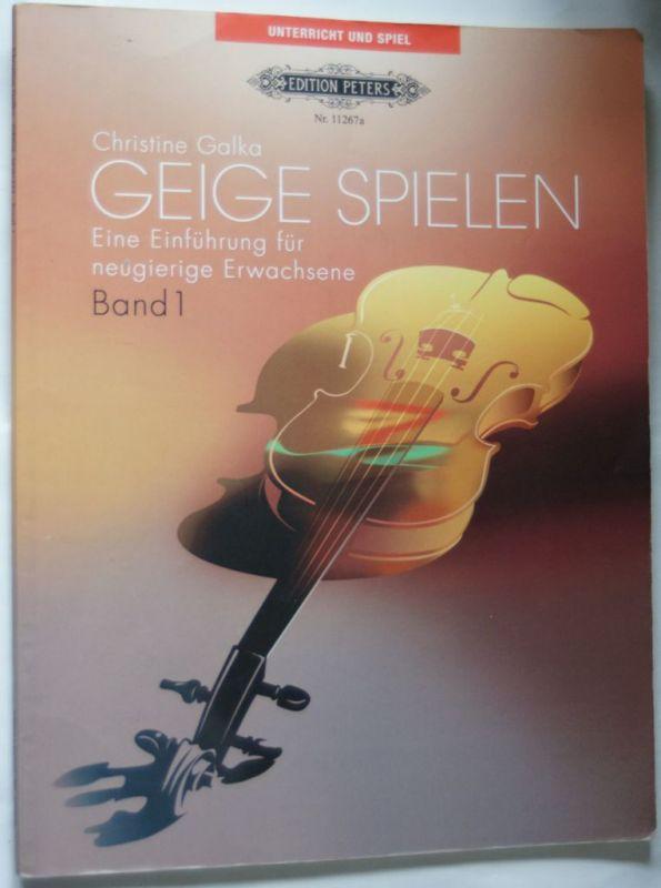 Christine, Galka: Geige Spielen