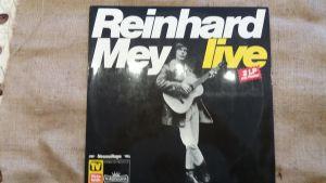 Reinhard Mey, Live, Doppel-LP, Reissue