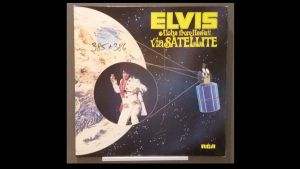 Rarität! ELVIS, Aloha from Hawaii via Sat. Doppel.LP