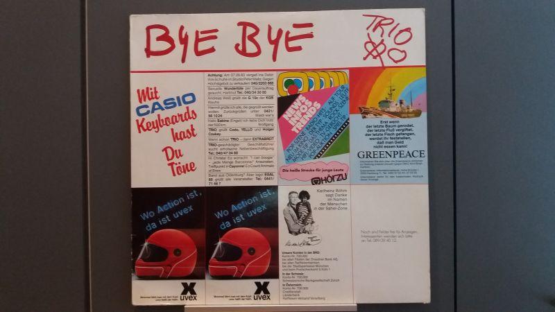 Trio, Bye Bye, LP 1983