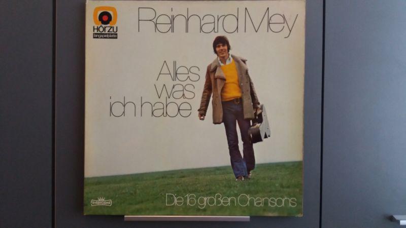 Reinhard Mey, Alles was ich habe, LP, 1973
