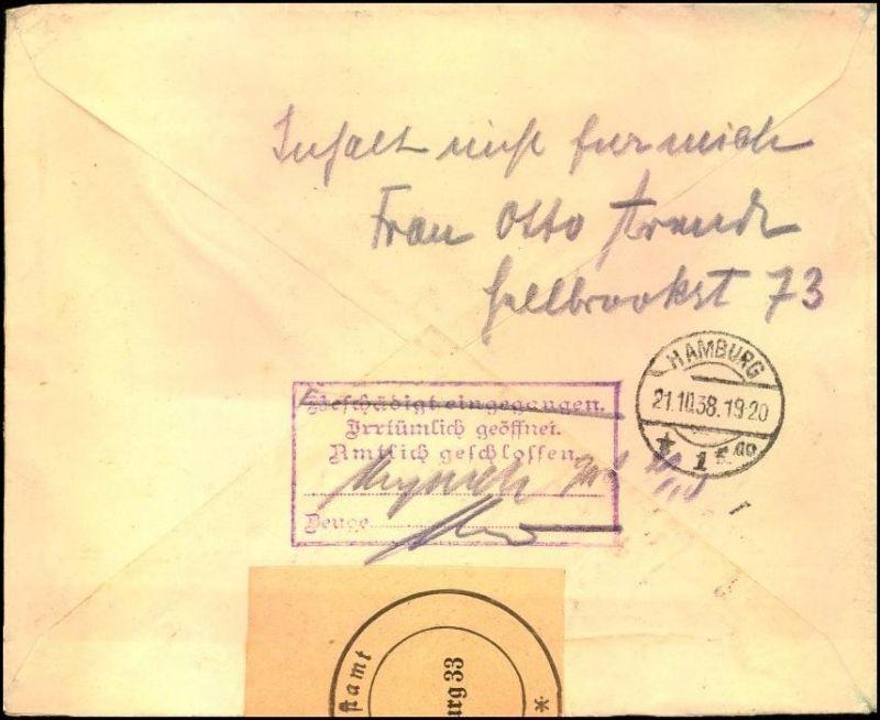 Brief Nach Hamburg Briefmarke : Der artikel mit oldthing id  ist aktuell