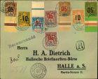 Bild zu 1913, 8 values fr...