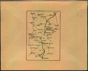 1929,KRONACH, toller Firmen-Werbebrief, Reklame,Der Ama-Schemel,für Büro u. Werkstatt, Albert Menger A.-G. Stoffelsmühle 1