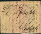 Bild zu 1833, Faltbrief W...