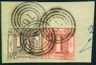 Bild zu 1864, Prachtbrief...