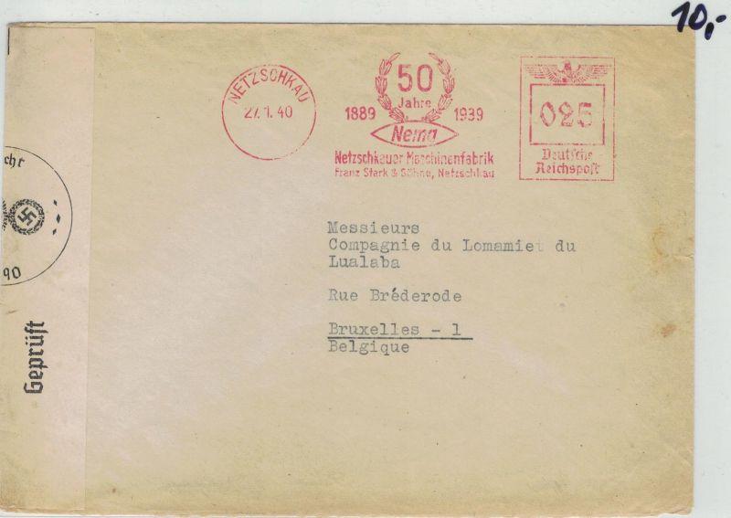 Auflösung Briefe Sammlung Drittes Reich ;NETZSCHKAU