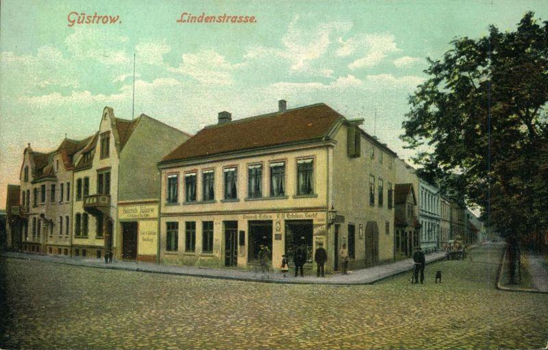1917, GÜSTROW, Lindenstrasse