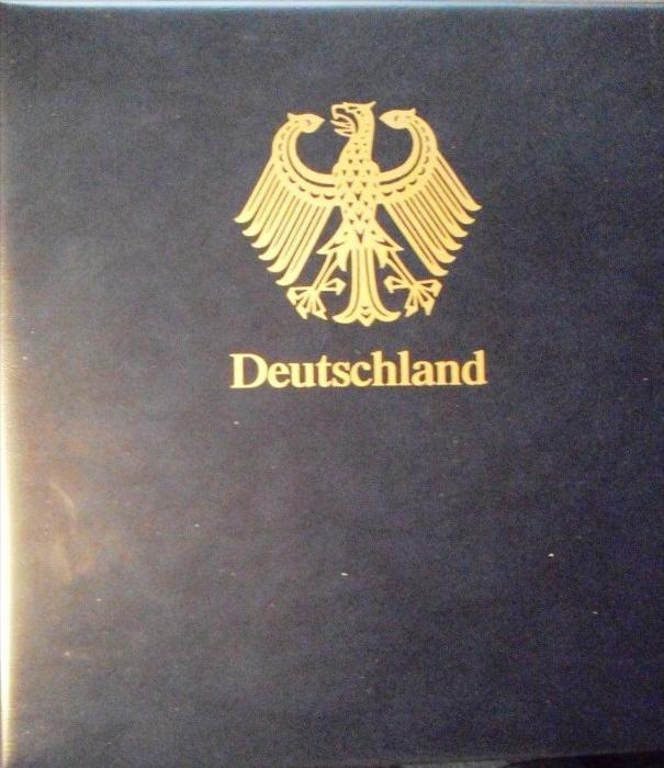 BUND 1990-1996: Safe-Dual Vordruck im Ringbinder, Neupreis 109,- Euro
