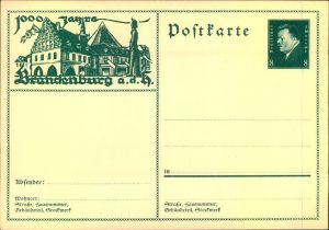 Bildpostkarte 1000 Jahre BRANDENBURG (HAVEL) - Brandenburg