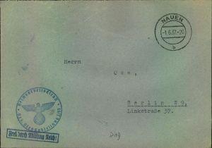 1937, Reichsarbeitsdienst (RAD) Nauen, Frei durch Ablösung