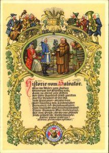 advertising covers, lettre publicite, Reklame, Werbung, Paulaner, München
