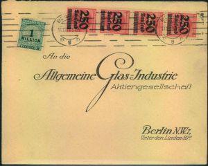 1923, Firmen-Werbebrief,