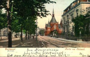 1905, DORTMUND, schöne Farbkarte